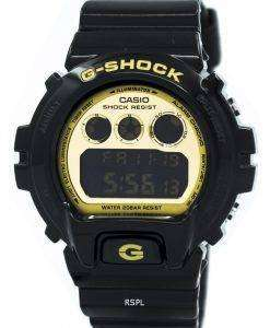 Casio G-Shock Illuminator Black and Gold DW-6900CB-1 Mens Watch