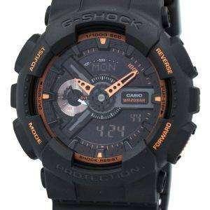 Casio G-Shock Analog-Digital GA-110TS-1A4 Mens Watch