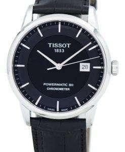 Tissot Luxury Powermatic 80 COSC T086.408.16.051.00 T0864081605100 Men's Watch