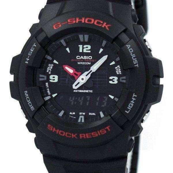 casio g shock analog digital 200m g 100 1b s canada