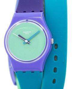 Swatch Originals Fun In Blue Quartz LV117 Women's Watch
