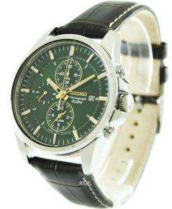 Seiko Chronograph SNAF09P1 SNAF09P Mens Watch