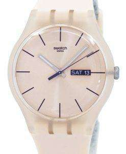 Swatch Originals Rose Rebel Quartz SUOT700 Unisex Watch