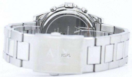 Armani Exchange Chronograph Silver-Tone Dial AX2058 Mens Watch