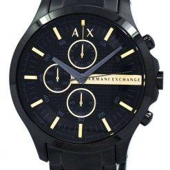 Armani Exchange Black PVD Chronograph Quartz AX2164 Men's Watch