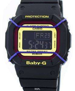 Casio Baby-G Digital World Time 200M BGD-501-1B Womens Watch