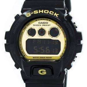 Casio G-Shock Illuminator Black and Gold DW-6900CB-1 Mens Watch