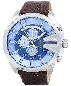 Diesel Mega Chief Chronograph Blue Dial DZ4281 Mens Watch
