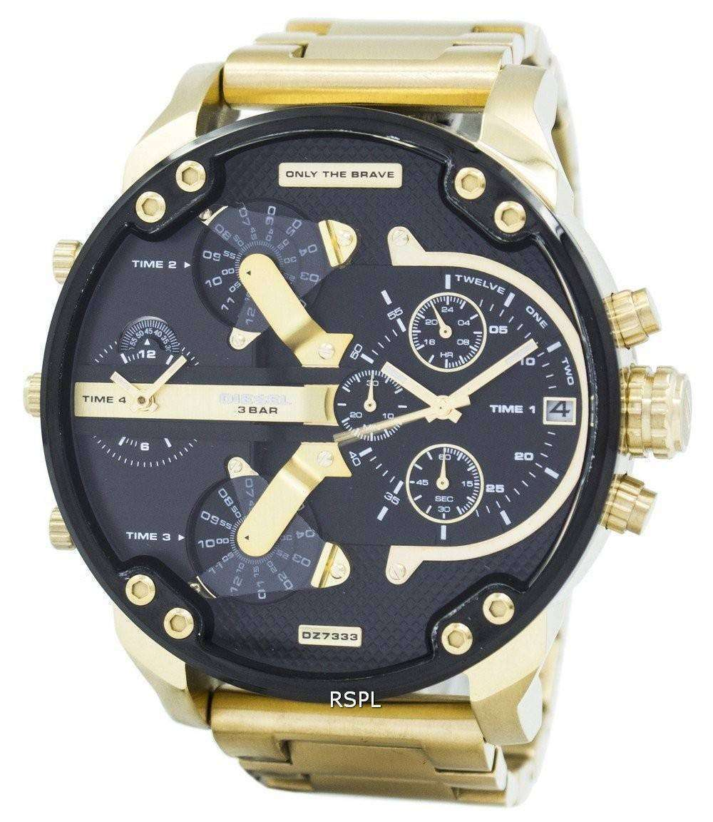 diesel mr daddy 2 0 chronograph dz7333 mens watch. Black Bedroom Furniture Sets. Home Design Ideas
