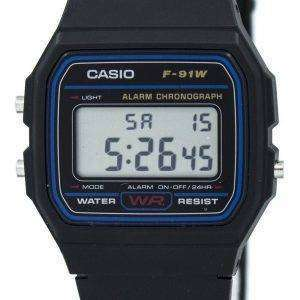 Casio Classic Sports Chronograph F-91W-1SDG F-91W-1S Men's Watch