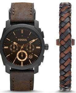 Fossil Machine Chronograph Quartz FS5251SET Men's Watch