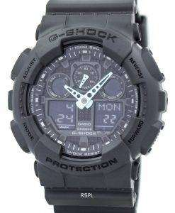 Casio G-Shock Analog-Digital GA-100C-8A Mens Watch