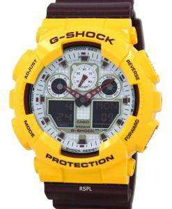 Casio G-Shock Analog Digital GA-100CS-9A Mens Watch
