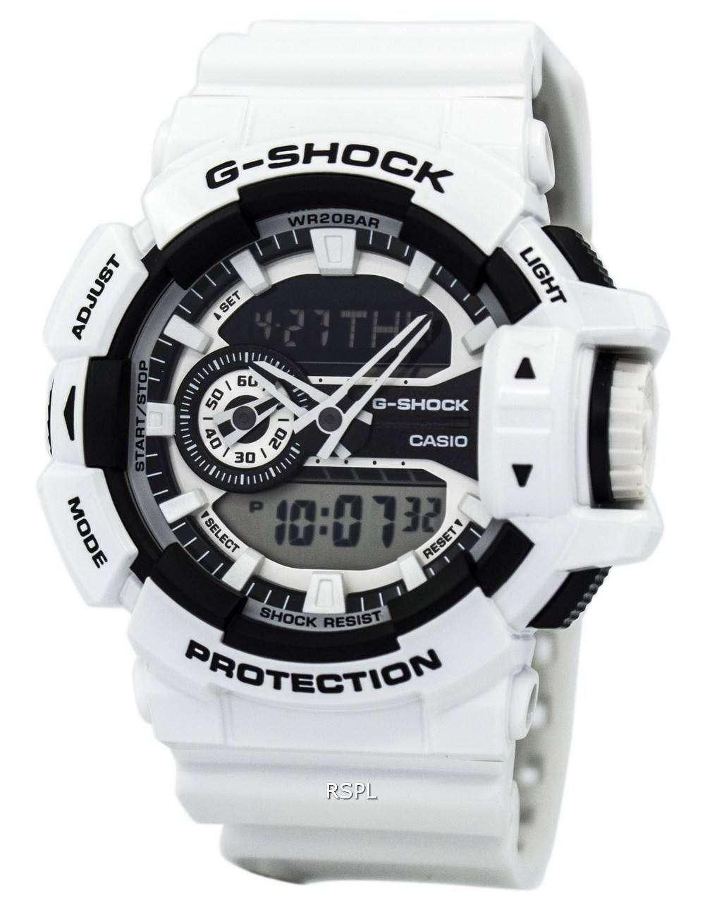 f7f13f477 Casio G-Shock Analog-Digital 200M GA-400-7A Mens Watch