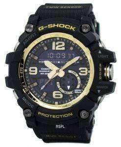 Casio G-Shock MUDMASTER Analog-Digital World Time Alarm GG-1000GB-1A Men's Watch