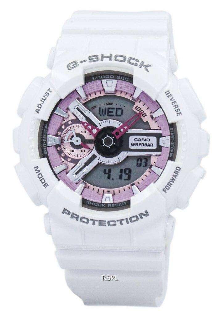 Casio G-Shock S Series Analog-Digital 200M GMA-S110MP-7A Women's Watch