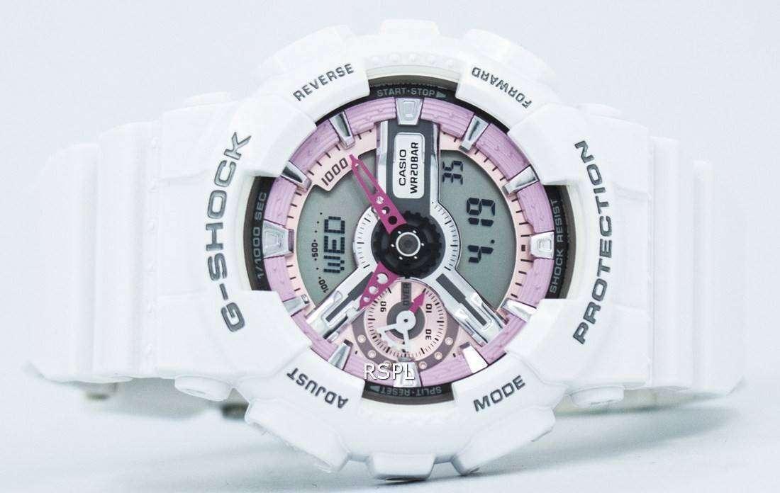 62999680f90e7 Casio G-Shock S Series Analog-Digital 200M GMA-S110MP-7A Women s Watch
