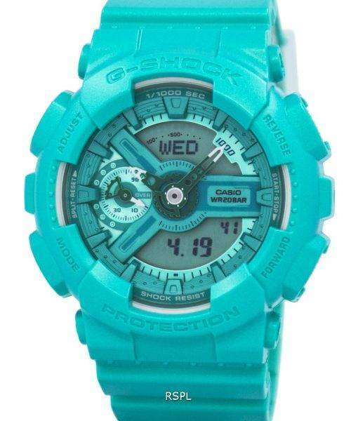 Casio G-Shock S Series Analog-Digital 200M GMA-S110VC-3A Women's Watch