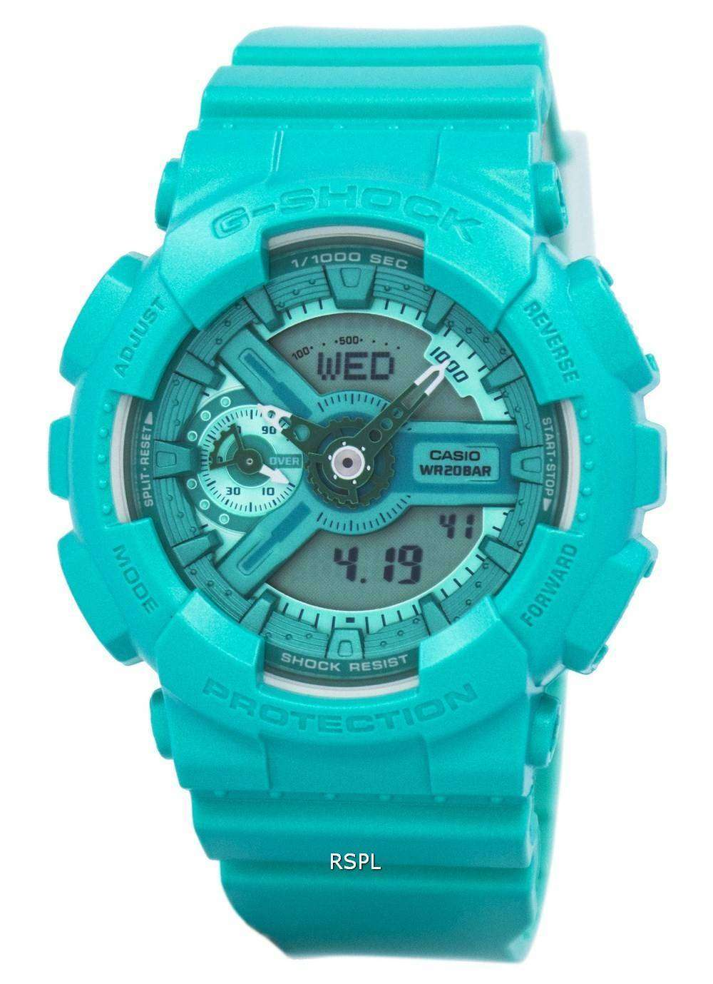 Casio G-Shock S Series Analog-Digital 200M GMA-S110VC-3A Women s Watch fb69ba8902
