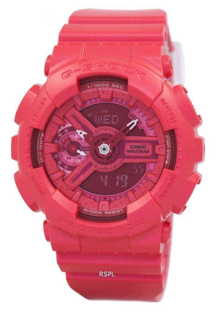 Casio G-Shock S Series Analog-Digital 200M GMA-S110VC-4A Women's Watch