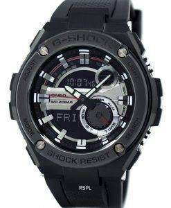 Casio G-Shock G-Steel Analog Digital World Time GST-210B-1A Mens Watch