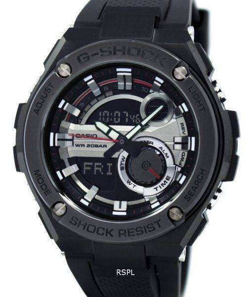 Casio G-Shock G-Steel Analog Digital World Time GST-210B-1A Mens Watch