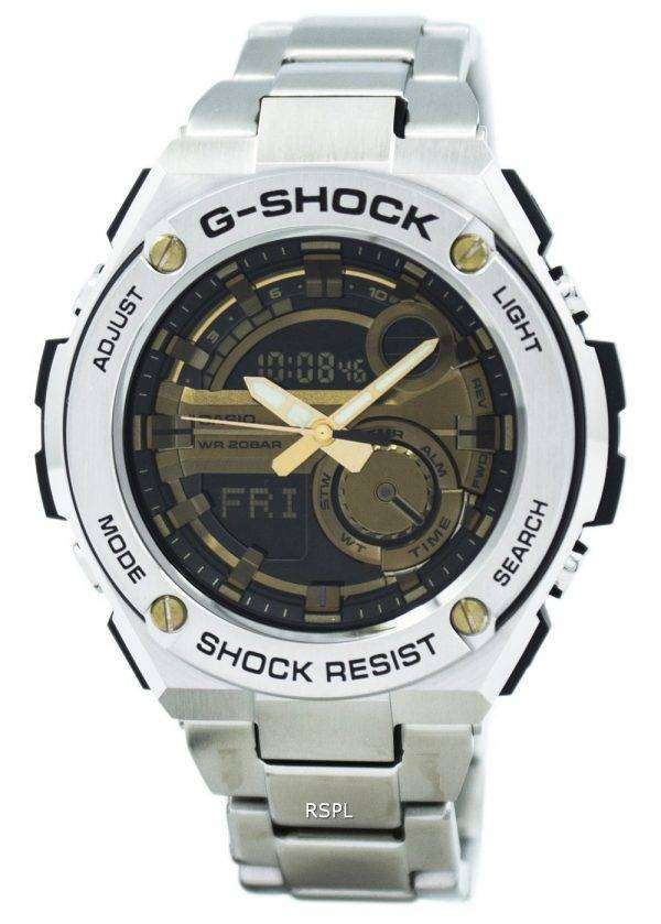 Casio G-Shock G-Steel Analog Digital World Time GST-210D-9A Mens Watch