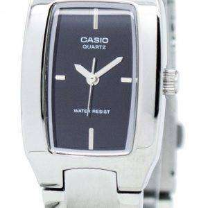 Casio Enticer Analog Black Dial LTP-1165A-1CDF LTP-1165A-1C Womens Watch