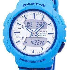 Casio Baby-G Shock Resistant Dual Time Analog Digital BGA-240L-2A2 Women's Watch