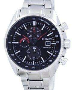 Citizen Eco-Drive Chronograph Tachymeter Power Reserve CA0590-58E Men's Watch