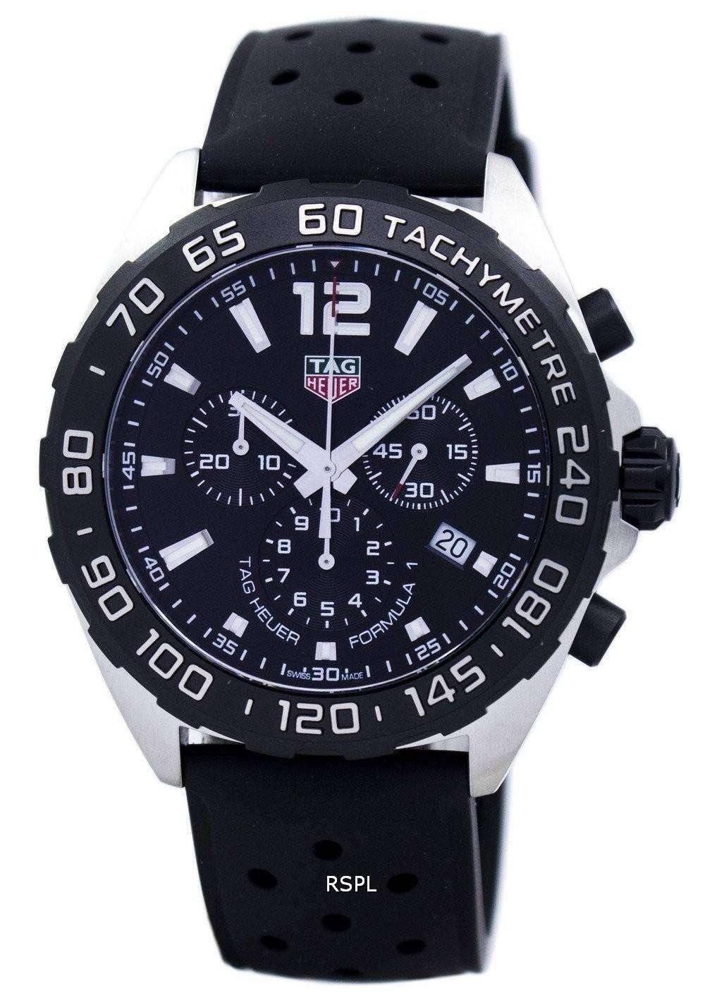 Tag Heuer Formula 1 Chronograph Tachymeter Quartz Caz1010
