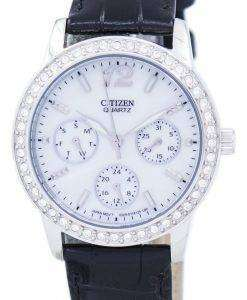 Citizen Chronograph Quartz Diamond Accent ED8090-11D Women's Watch