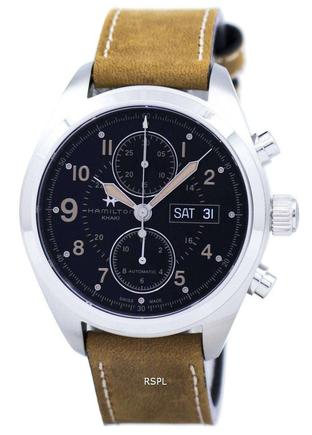 Hamilton Khaki Field Chronograph Automatic H71616535 Men's Watch