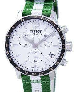 Tissot Quickster NBA Boston Celtics T095.417.17.037.17 T0954171703717 Men's Watch
