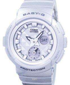 Casio Baby-G Shock Resistant World Time Analog Digital BGA-195-8A Women's Watch