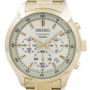 Seiko Chronograph Quartz SKS592 SKS592P1 SKS592P Men's Watch