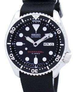 Seiko Automatic Diver's 200M NATO Strap SKX007J1-NATO4 Men's Watch