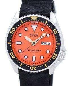 Seiko Automatic Diver's 200M NATO Strap SKX011J1-NATO4 Men's Watch