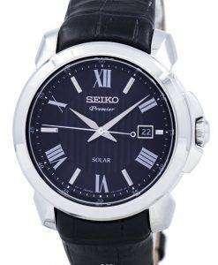 Seiko Premier Solar SNE455P2 Men's Watch