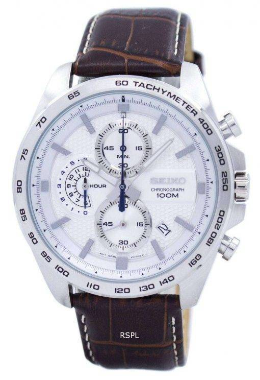 Seiko Chronograph Quartz Tachymeter SSB263 SSB263P1 SSB263P Men's Watch