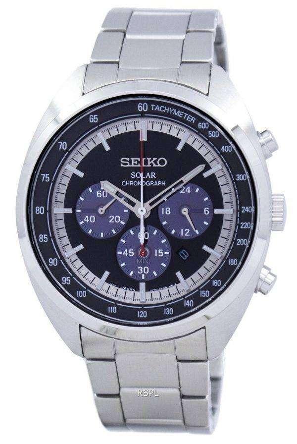 Seiko Solar Chronograph Tachymeter SSC621 SSC621P1 SSC621P Men's Watch