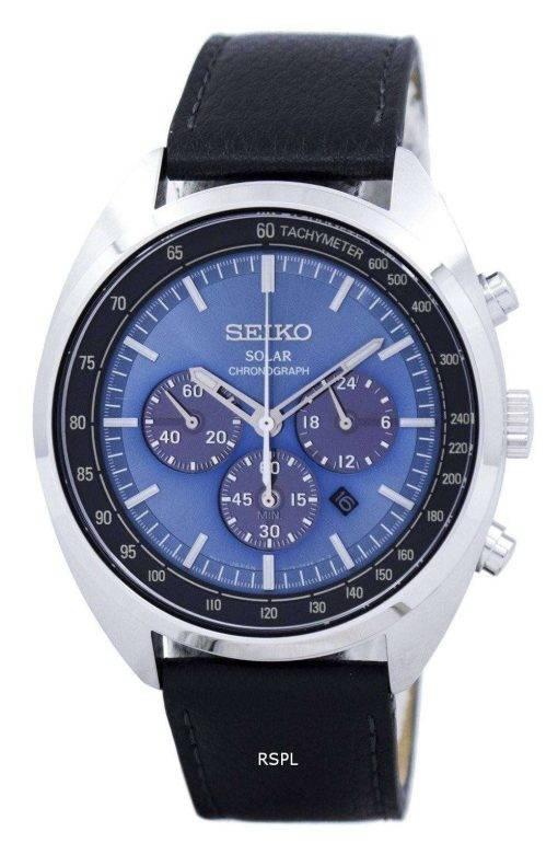 Seiko Solar Chronograph Tachymeter SSC625 SSC625P1 SSC625P Men's Watch
