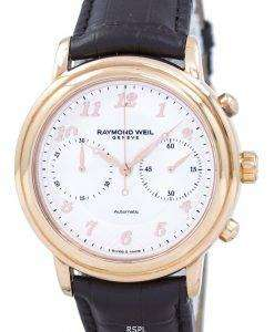 Raymond Weil Geneve Maestro Chronograph Automatic 4830-PC5-05658 Men's Watch