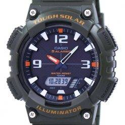 Casio Illuminator Tough Solar Alarm Analog Digital AQ-S810W-3AV Men's Watch