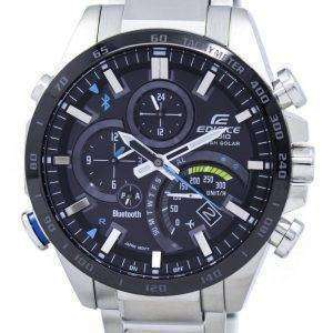 Casio Edifice Tough Solar Filght Mode Bluetooth Tachymeter EQB-501XDB-1A Men's Watch