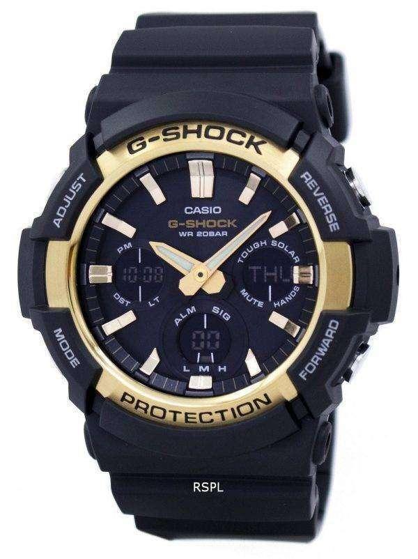 Casio G-Shock Tough Solar Shock Resistant Alarm GAS-100G-1A Men's Watch