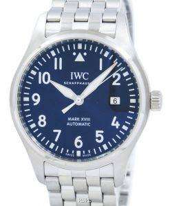 "IWC Pilot's Mark XVIII ""LE PETIT PRINCE"" Edition Automatic IW327014 Men's Watch"