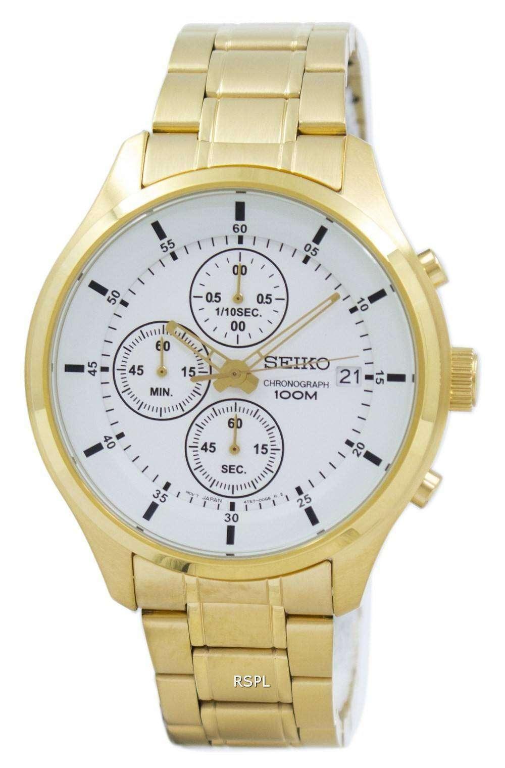 Seiko Chronograph Quartz SKS544P Men's Watch
