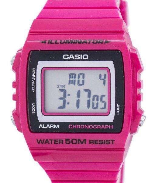 Casio Illuminator Chronograph Alarm Digital W-215H-4AV Men's Watch