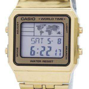Casio Alarm World Time Digital A500WGA-9DF Men's Watch